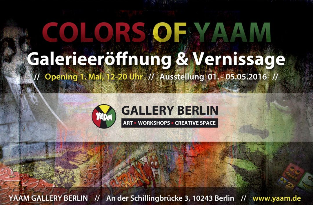 Colors Of YAAM | Ausstellung