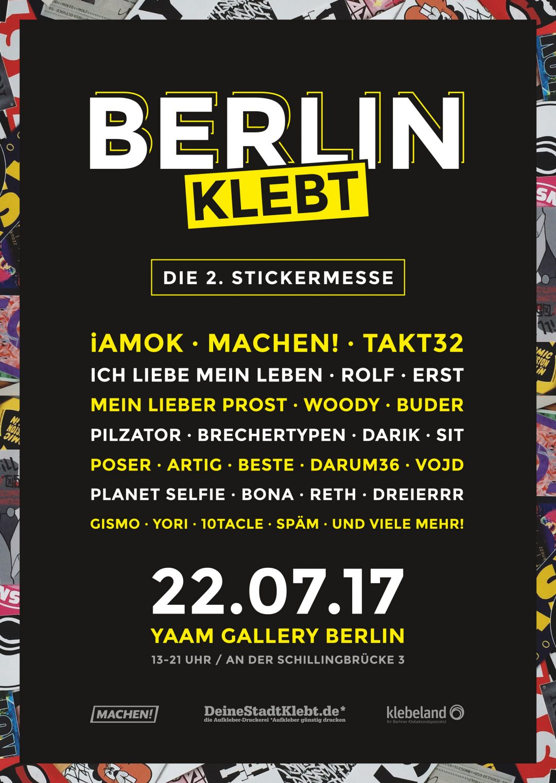 STICKERMESSE 2017